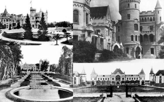 MUROMTZEVO KONAĞI  / Rusya /  Rus mimar P.S. Boitzov'un 19. yüzyılda yaptığı Fransız tarzı ortaçağ kalelerini andıran Muromtzevo Konağı da bunlardan biri.