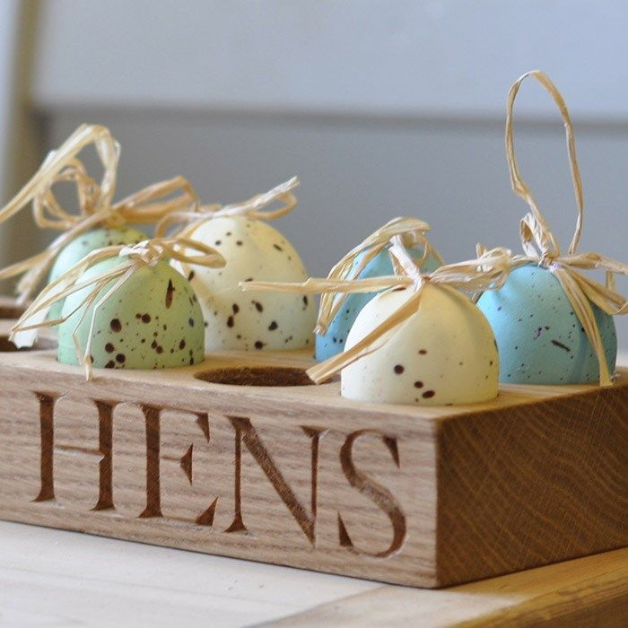 96 best easter images on pinterest personalised oak egg rack gettingpersonal negle Gallery
