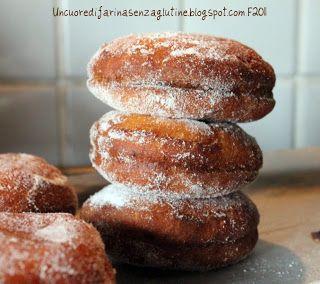 Bomboloni, Krapfen Senza Glutine  