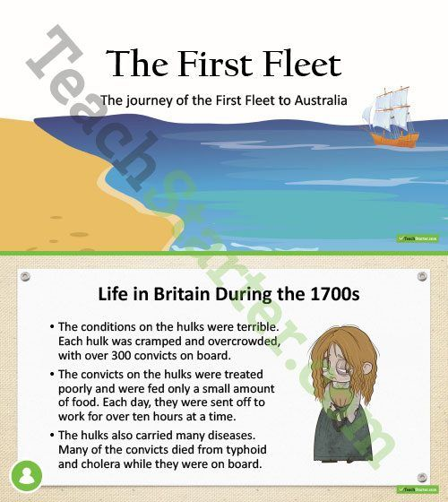 The First Fleet PowerPoint