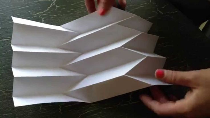 Learn how to turn a flat piece of paper into an amazing 3d surface! This technique can be used in other paper projects, as an artwork on its own, or extended...