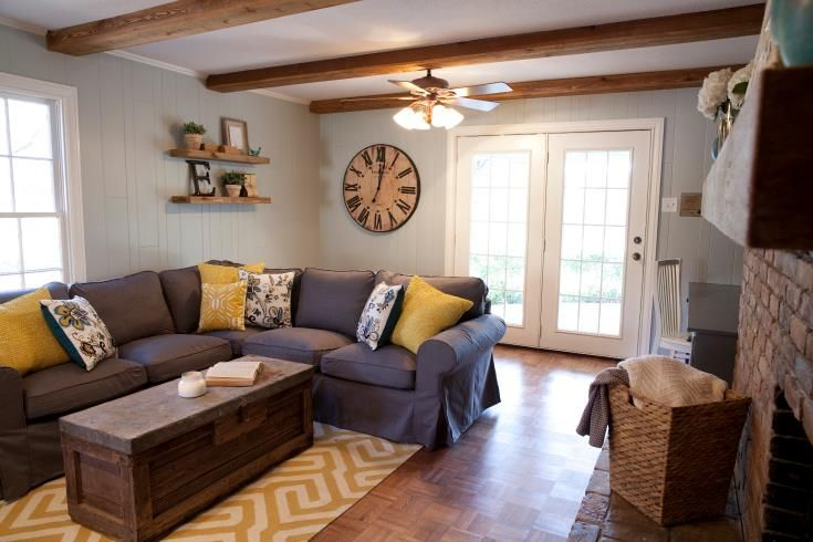 Hgtv Fixer Upper Home Fixer Upper Living Room Home