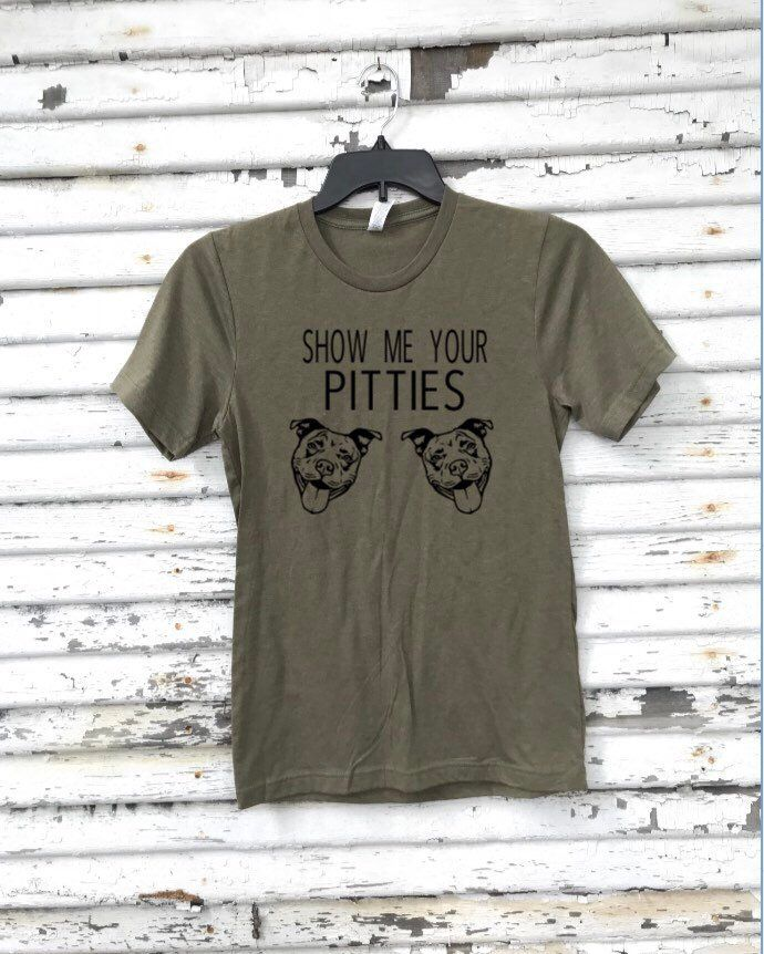 047f4b1f8 Excited to share this item from my #etsy shop: Show Me Your Pitties Shirt