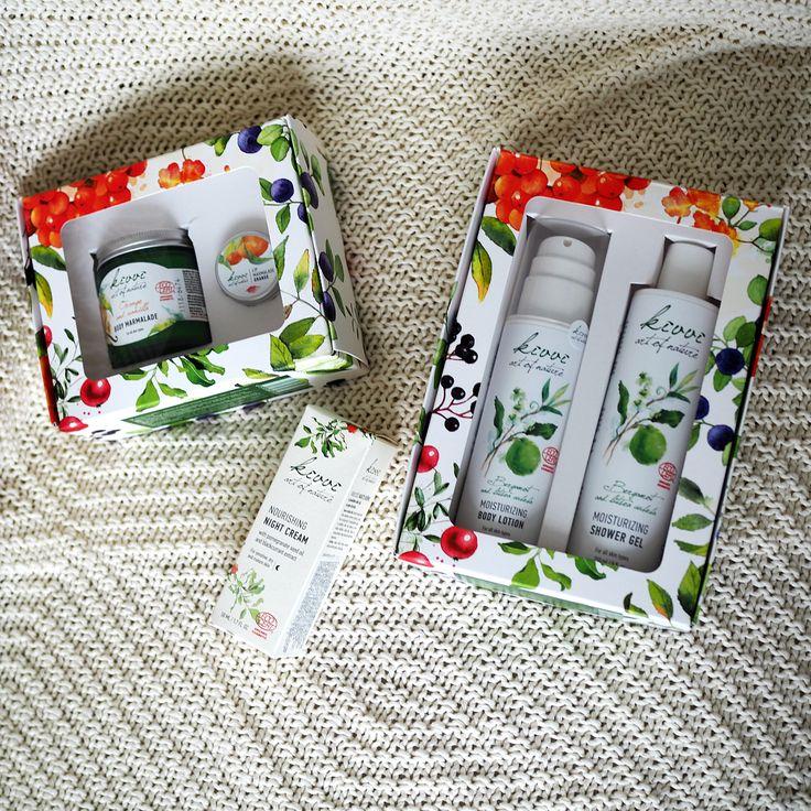 Kivvi luonnonkosmetiikka lahjapakkaukset / Kivvi Natural Cosmetics Gift bags