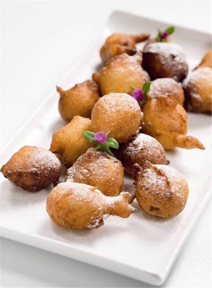 Buñuelos de manzana.