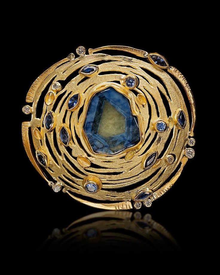 newly found brooch Judith Kaufman in the photo made by: Mark Nantz Photography
