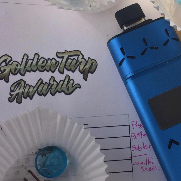 """Judging a cannabis competition so focused on terpenes is aided by using a vaporizer like the AirVape that allows me to inhale the cannabinoids flavonoids and terpenes without all the burning plant matter and chlorophyll getting in the way. I recommend the AirVape to anyone who really wants to taste their cannabis or has asthma like I do."""" - @shapingfire  #goldentarp #shapingfire . . . #vape #vapelife #vapeon #vaporizer #daily #vaping #vapeporn #getcreative #vapefam #vapetricks…"""