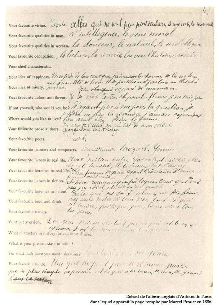 Top Best 25+ Proust questionnaire ideas on Pinterest | Marcel proust  MD61