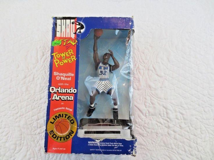 1994 Kenner Shaquille Oneal Shaq Attaq Orlando Magic Arena Tower Of Power Figure #Kenner #OrlandoMagic