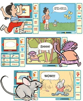 Toon Books Publisher Of Easy To Read Comics Has A Site With Lots Fun Activities For Kids Including Cartoon Maker And Lesson Plans