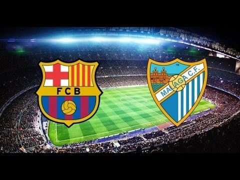 PES Lovers: PES 2016   FC Barcelona VS Malaga   GOALS