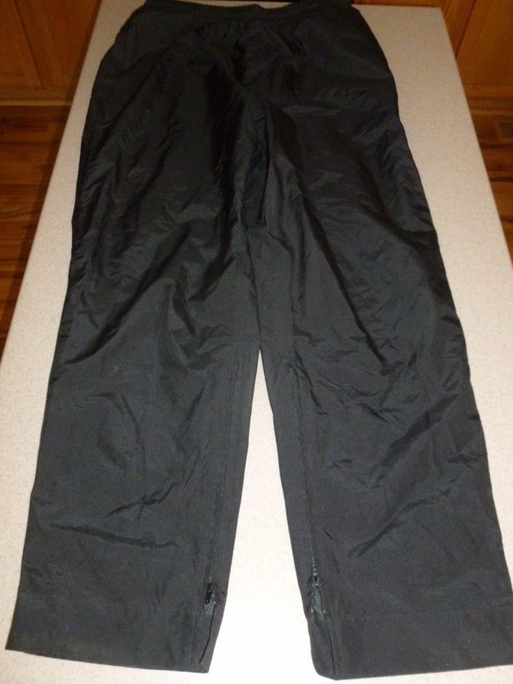 "Sun Mountain Rainflex Golf Rain Gear Pants 30"" inseam sz L Large #SunMountain"