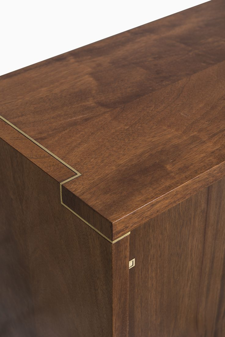 Mahogany sideboard in the manner of Pierre Cardin at Studio Schalling