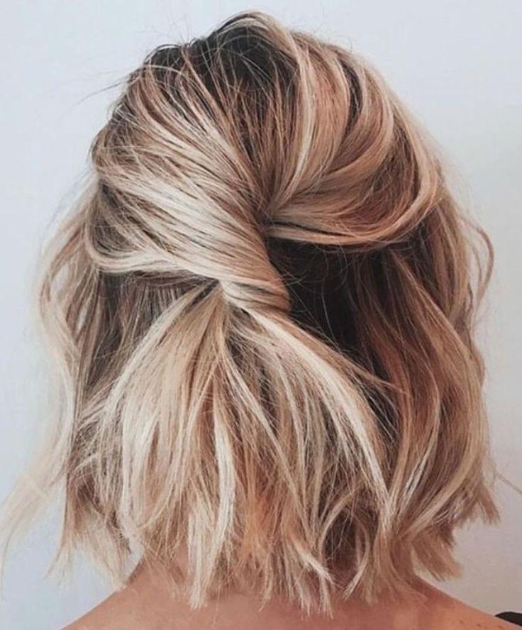 Nonchalant Kapsel Voor Kort Haar Frisuren Kurze Haare Blond Frisuren Haare