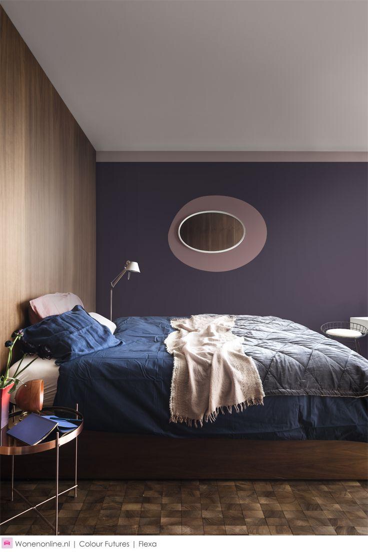 40 beste afbeeldingen van flexa heart wood is de kleur van het jaar 2018 - Volwassen slaapkamer kleur ...