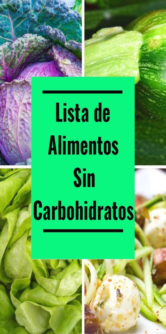 Los Alimentos Sin Carbohidratos Pueden Llevarlo A Esa Forma Perfecta Que Desea Clean Eating Menu Fitness Diet Body Health