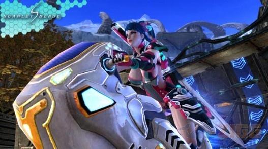 Scarlet Blade - Jogo MMORPG com personagens sensuais. Baixe no Zigg.