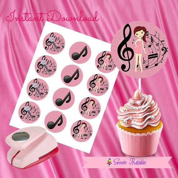 ariana grande cupcake toppers ariana grande tags ariana grande rh pinterest com