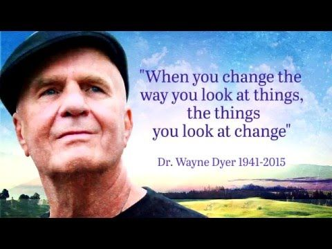 dr wayne dyer Dr wayne dyer, spiritual teacher, author and internationally renowned lecturer in  the field of self-development, has never really applied his.
