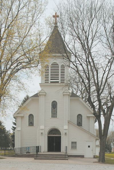 St. Mary's Catholic Church in Cedar Bluffs, Nebraska