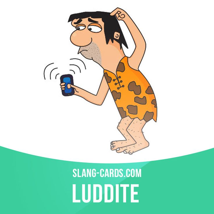"""""""Luddite"""" means a person who is not good with technology.  Example: I don't use Facebook because it's too confusing for me. I'm a bit of a luddite.  Get our apps for learning English: http://learzing.com"""