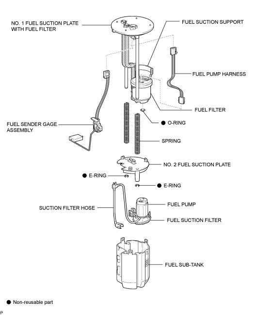 ALLDATA Repair - Library and Educational Version - 2008 Lexus Truck GX 470 V8-4.7L (2UZ-FE) - Components