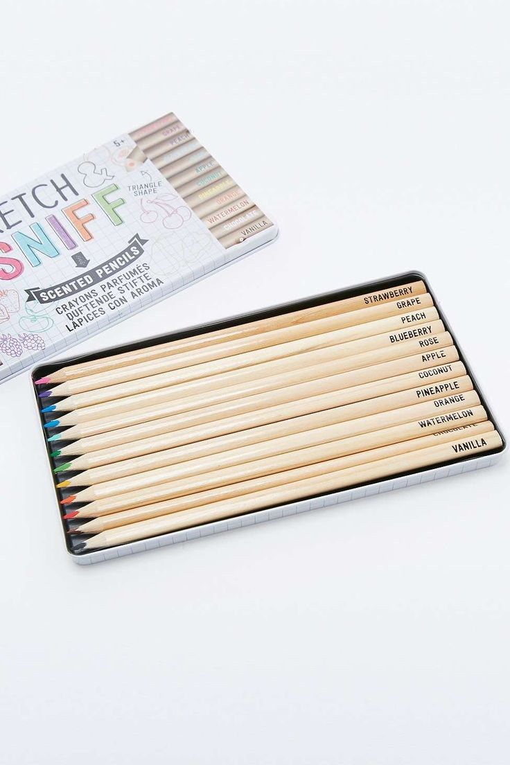 Sketch & Sniff Scented Colouring Pencils