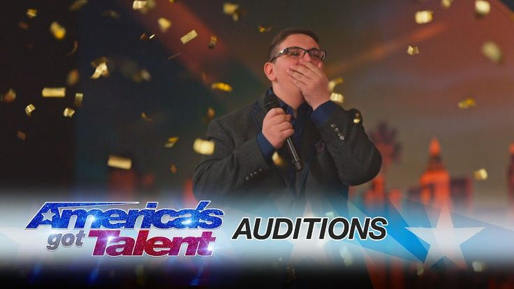 AMAZING!!! Christian Guardino: Humble 16-Year-Old Is Awarded the Golden Buzzer - America's Got Talent 2017 - YouTube