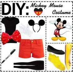 mickey mouse halloween costume teen girl - Google Search