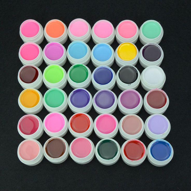 HNM 8 ml Pur Couleur UV Gel Vernis À Ongles Extension Nail Gel Couleur Art Décorations 1 pcs Professionnel Manucure Gel Lak 36 couleurs