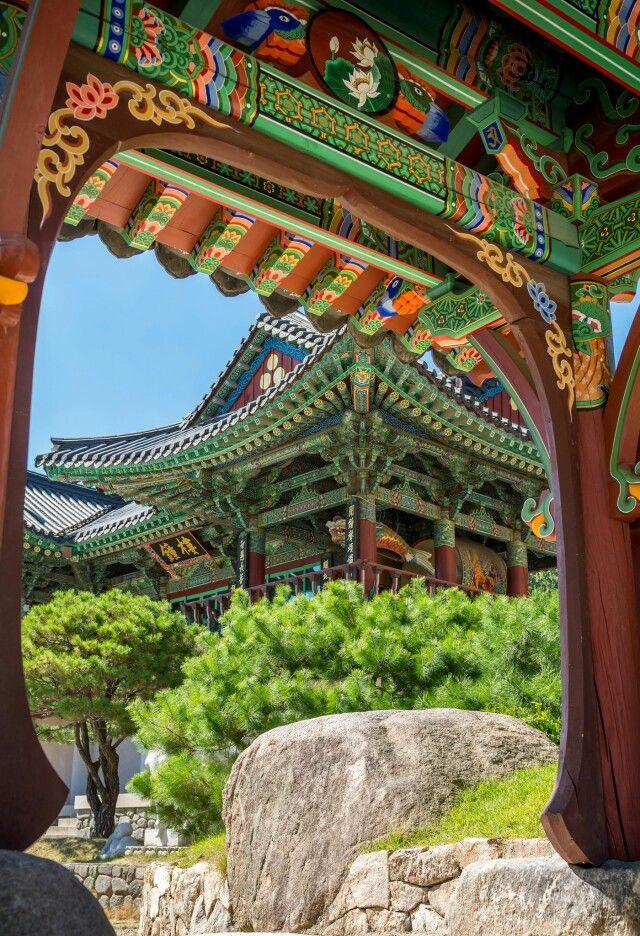 Bongeunsa, Ganganam, Seoul - Korea.  www.travel4life.club