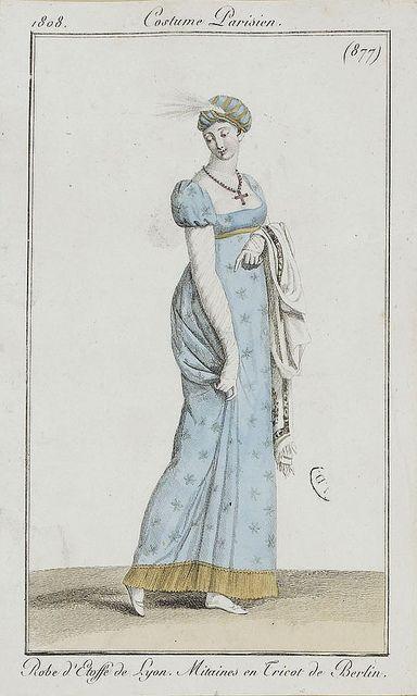 via Flickr. Costume Parisien ca 1800