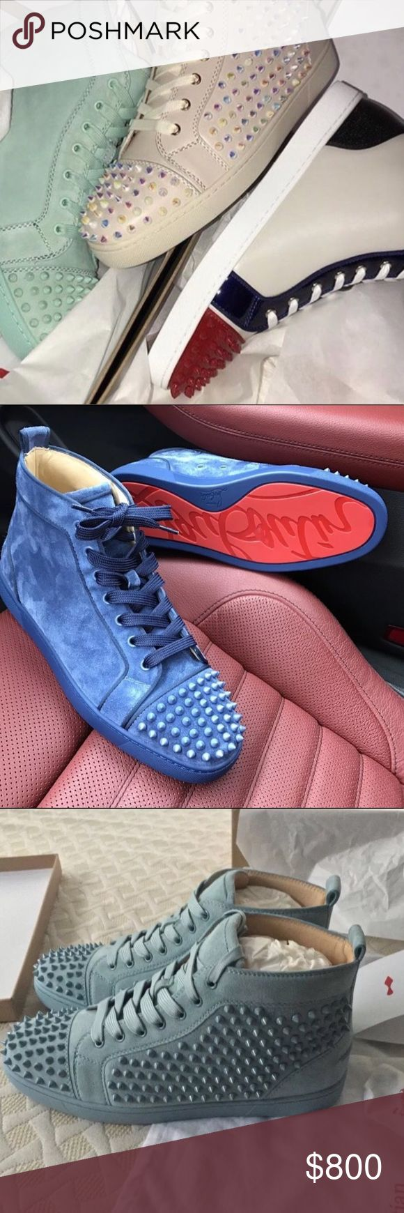 Authentic Christian Louboutin Flat Orlato ‼️BRAND NEW STYLES IN‼️ ✅ All of our goods are ready to ship! Free 2-3 day with tracking✅ 📲 If you are serious please message the number in the bio or DM for price 📲 ❌DO NOT WAIT ON YOUR ORDER! BECAUSE WE MIGHT NOT HAVE THE SAME STYLES/SIZES WITHIN DAYS! ❌ 🔌GET IT WHILE YOU CAN🔌  💵 PAYPAL-WU-GOOGLE WALLET 💯 ONLY HMU IF YOU READY TO ORDER 📲 770.467.2974 or email lavishapparel123@gmail.com or visit my website http://lavishdesigner.bigcartel.com…