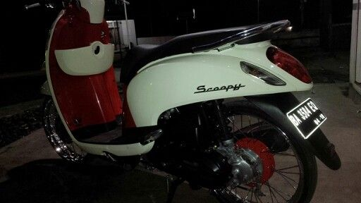 Honda Scoopy Indonesia #modification