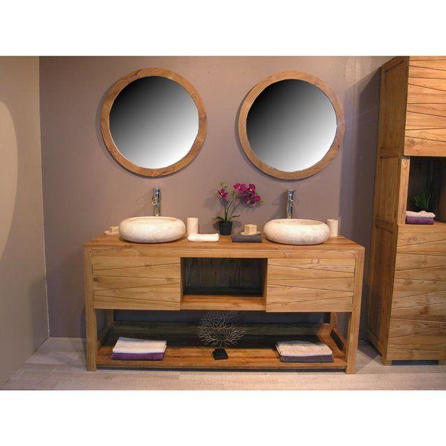 les 22 meilleures images du tableau salle de bain bas sur pinterest salle de bains sdb et teck. Black Bedroom Furniture Sets. Home Design Ideas