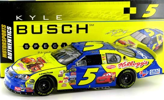 Kyle Busch #5 Kellogg's/Cars 2006 Monte Carlo SS