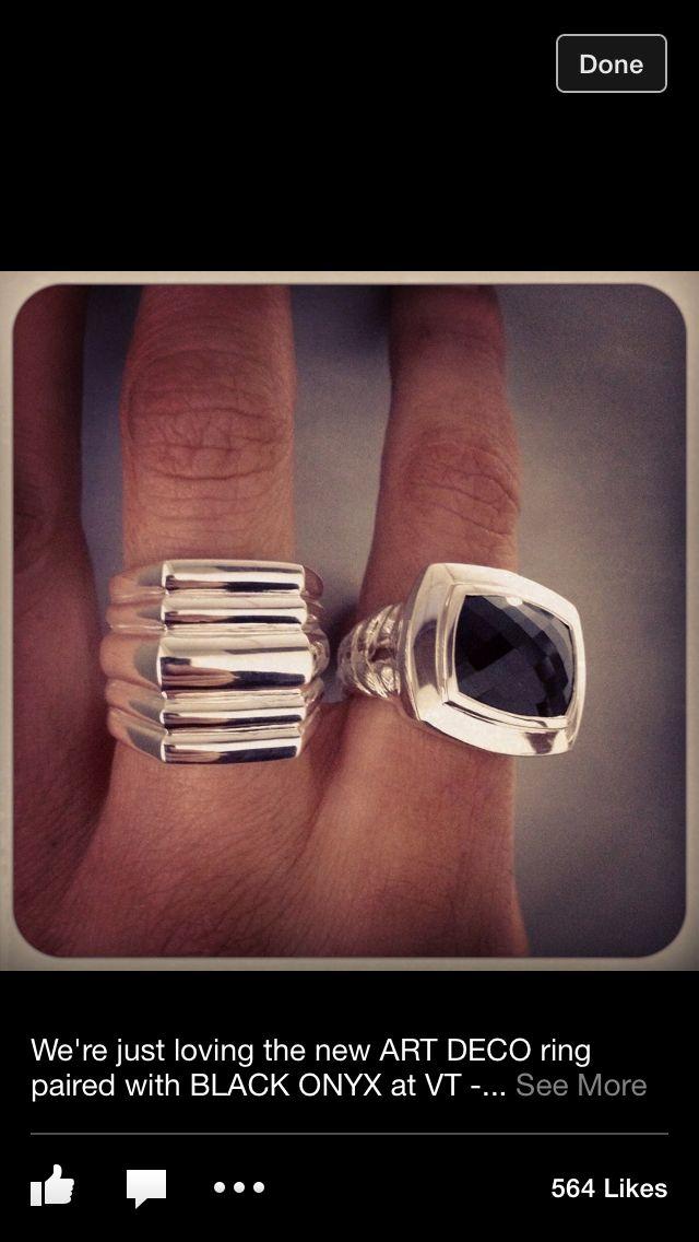 Love these Von Treskow rings!