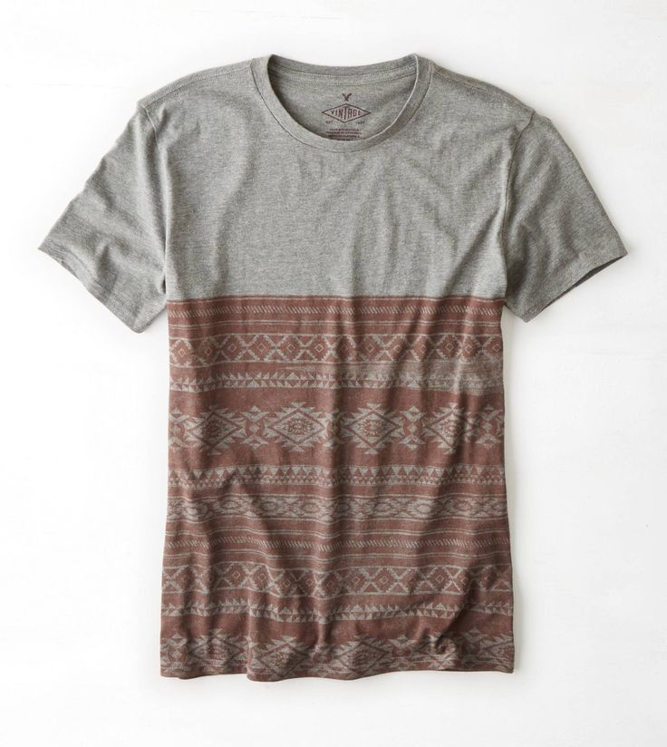 City Grey AEO Vintage Graphic T-Shirt