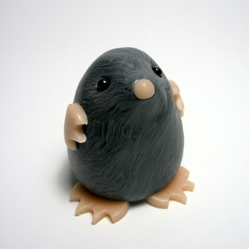Mole Try it with Air Dry clay