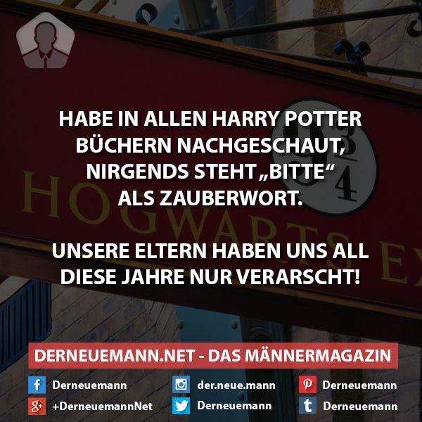 """""""'Gib mir die Pfanne.' 'Du hast das Zauberwort vergessen', sagte Harry gereizt. (...) 'Ich habe >bitte< gemeint!', setzte Harry rasch nach."""" Bitch please, do your research."""