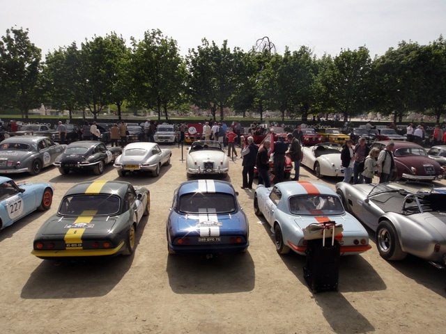 CARS FROM THE TOUR AUTO 2011 EVENT