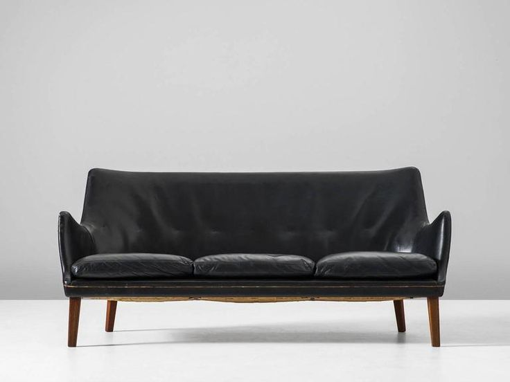 Arne Vodder   Leather Sofa