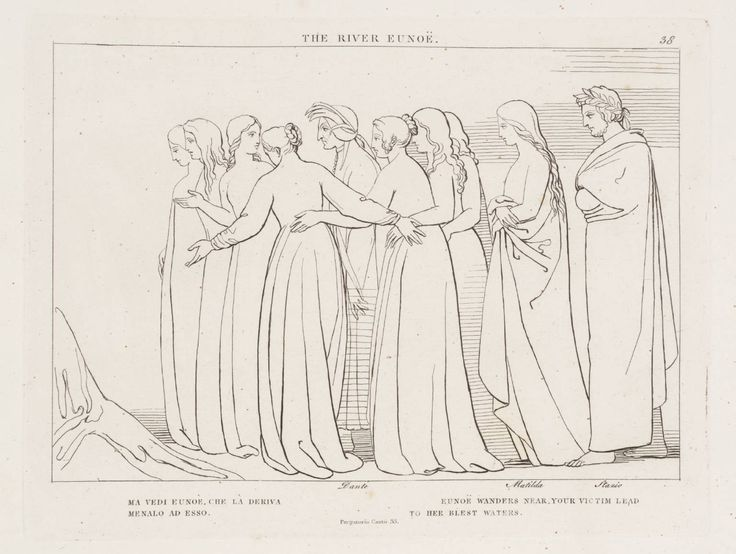 The River Eunoë John Flaxman