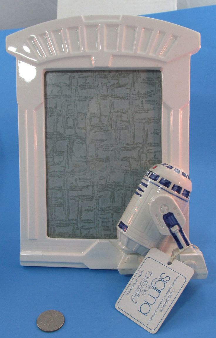 Original 1982 vintage ceramic PICTURE FRAME by Sigma featuring R2-D2. Description from ie.picclick.com. I searched for this on bing.com/images