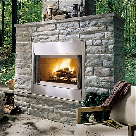 581 best home decor ideas images on pinterest home decor for Wood burning outdoor fireplace kits