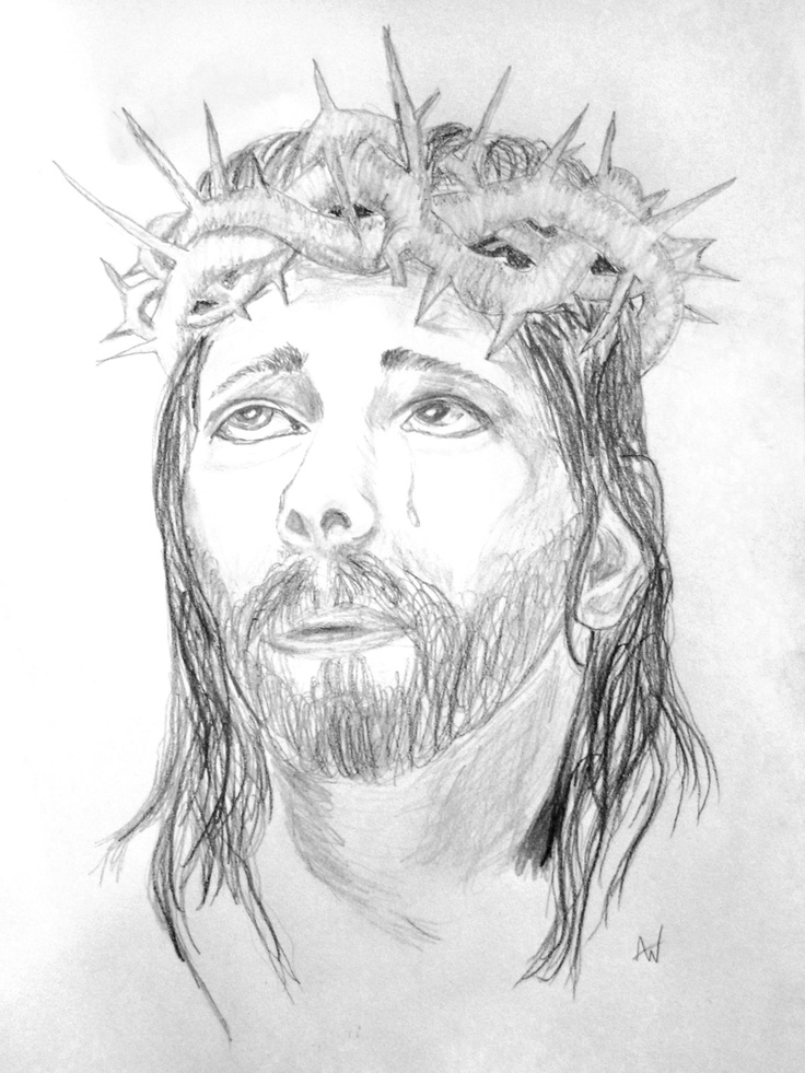Pencil drawing of Jesus Christ. | My Creations | Pinterest