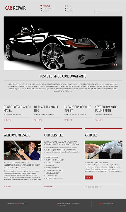 WordPress Premium responsive theme http://www.titantemplates.com/en/template/44512