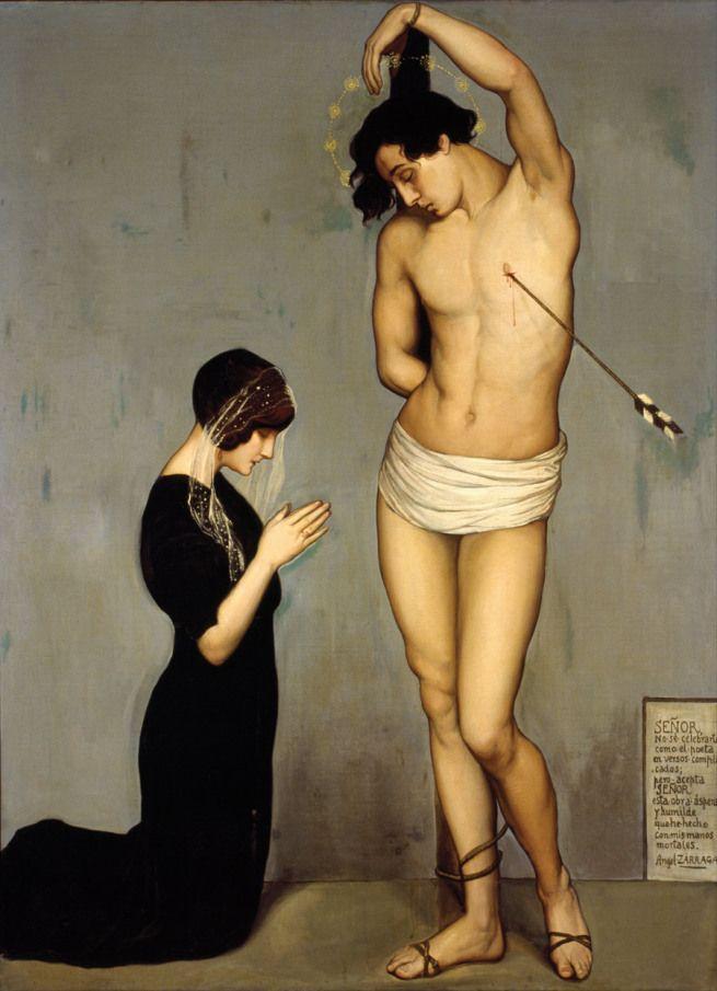 Ángel Zárraga (1912) Votive Offering (Saint Sebastian)