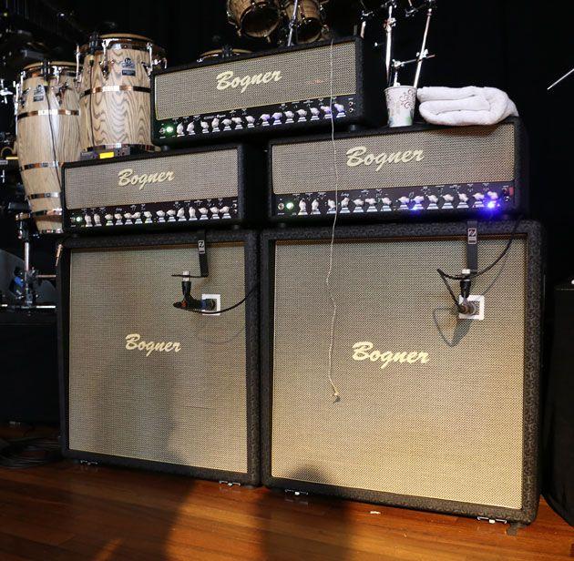 Steve Lukather's Bogner Ecstasy stage amps: