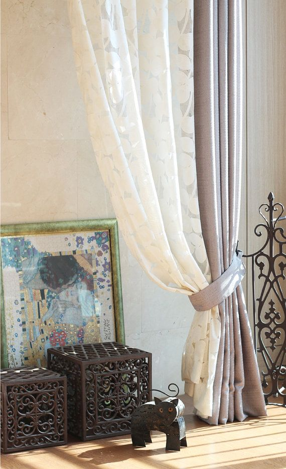 Materials combination Curtains Romentic high end by MyHomeStylist